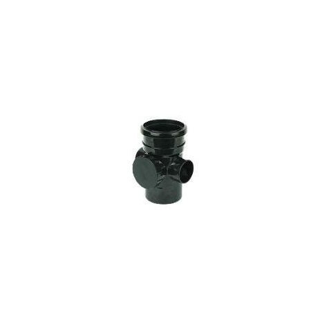 Access Pipe Single Socket Black Soil