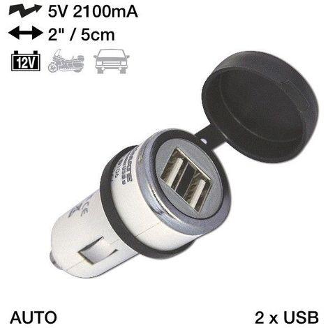 ACCESSOIRE CHARGEUR USB ET CABLE TECMATE OPTIMATE 0106 T10