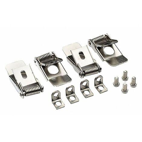 Accessoire Dalles LED - Clips pour encastrement - 4 pièces