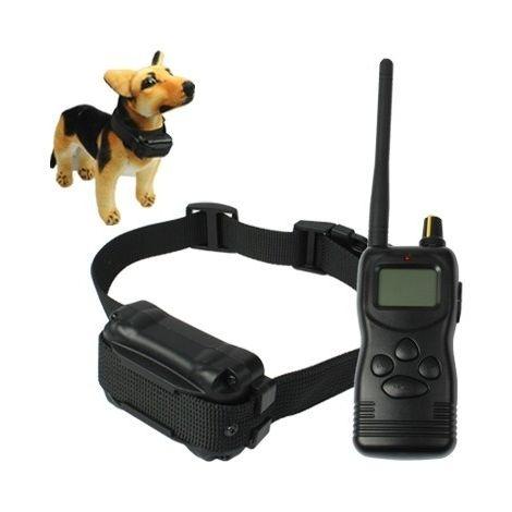 Accessoire de dressage Système de collier pour deux chiens à distance avec écran LCD