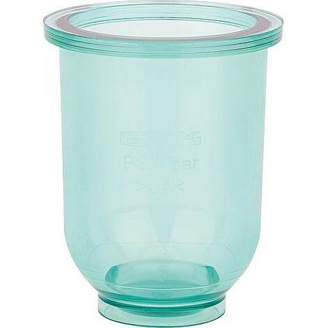 Accessoire pour filtre fioul Pot de filtre en plastique transparent
