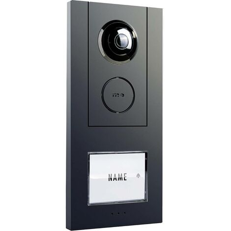 Accessoire pour interphone m-e modern-electronics VISTUS VD ALU-610 A 41178 filaire Station extérieure anthracite 1 pc(