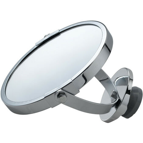 Accessoire sèche-serviette miroir suspendu chrome (498012)