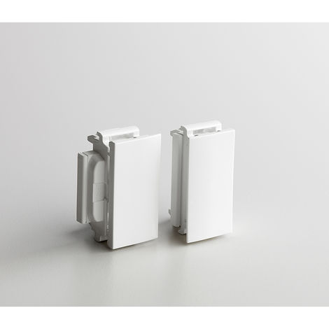Accessoire Soluclip - pour goulotte Prog Mosaic clip direct - blanc