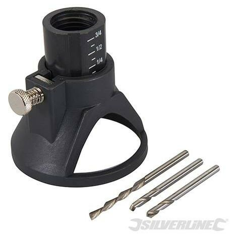 """Accessoires de coupe multi-usage, 4 pcs, 3,17 mm (1/8"""")"""
