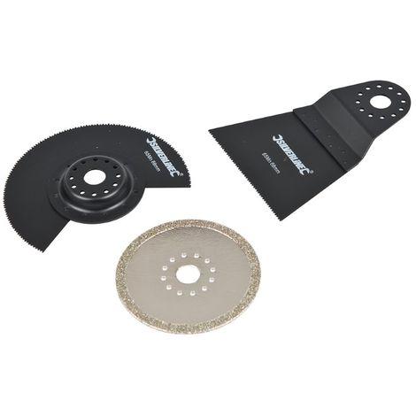 Accessoires de coupe pour outil multifonction, 3 pcs 3 pcs