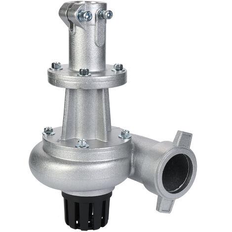 Accessoires de desherbeur de tete de pompe a eau de tondeuse a gazon generale professionnelle en alliage d'aluminium multifonctionnel, 1,5 pouces 26 mm