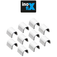 Accessoires droits pour Cablefix 2201 blanc - Inofix