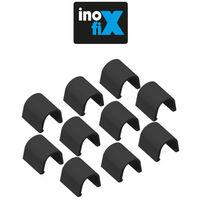 Accessoires droits pour Cablefix 2201 noir - Inofix
