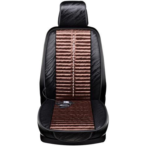 Accessoires intérieurs de voiture Housse de coussin de siège de voiture automatique Coussin chauffant (café, housse de siège avant)