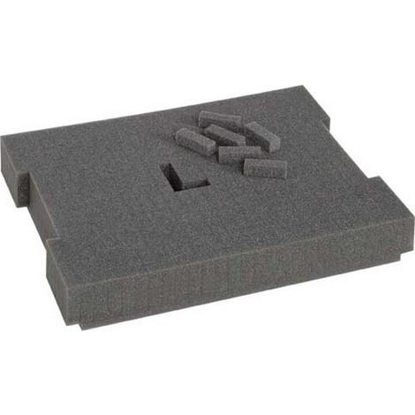 Accessoires pour la mallette à outils, Désignation : Mousse prédécoupée, pour modèle 102 136 238 374