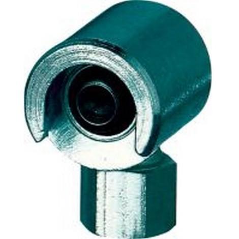 Accessoires pour pompes à graisse à levier manuel, Modèle : Accouplement coulissant de 16 mm avec raccord plat