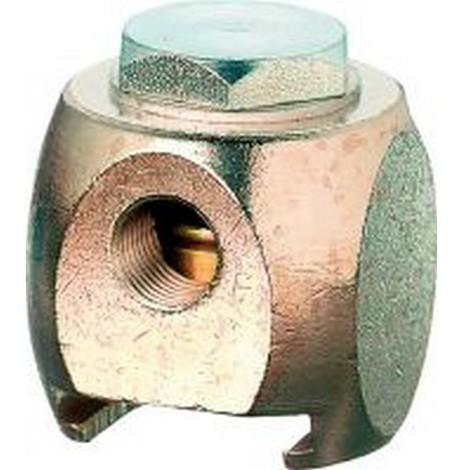 Accessoires pour pompes à graisse à levier manuel, Modèle : Accouplement coulissant de 22 mm avec raccord plat