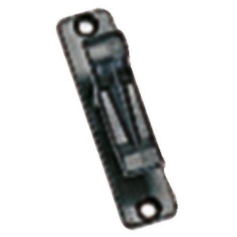 Accessoires standards en PVC finition noir pour espagnolette pour volets aluminium et PVC