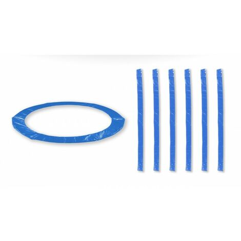 Accessoires Trampoline Pack relooking Bleu Trampoline 13FT - 400cm - 6 Perches