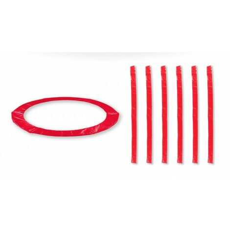 Accessoires Trampoline Pack relooking Rouge Trampoline 13FT - 400cm - 6 Perches