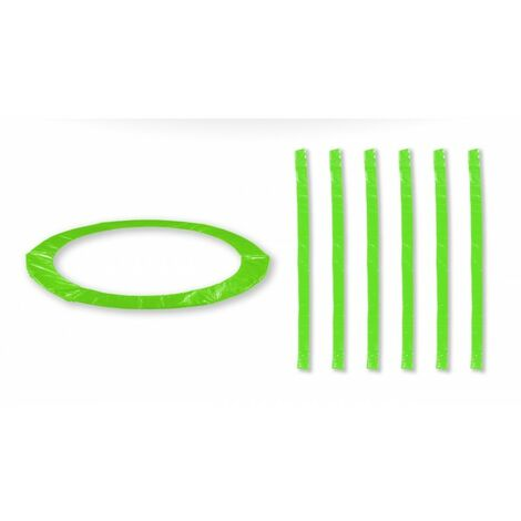 Accessoires Trampoline Pack relooking Vert Pomme Trampoline 13FT - 400cm - 6 Perches