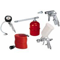 Accessori compressore aria compressa einhell pistola spruzzo aerografo manometro