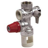 Accessori per scaldacqua - Gruppo sicurezza scartamento 38mm -20x27 M/F