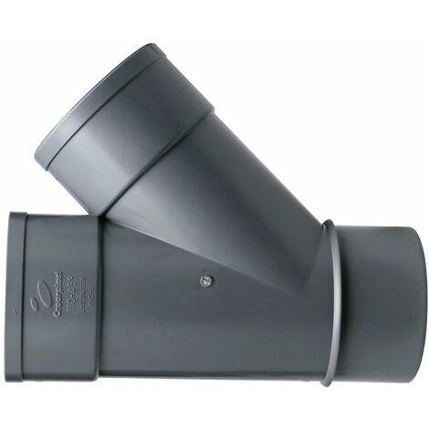 ACC.PVC. DERIVACION SIMPLE M/H 90-45º