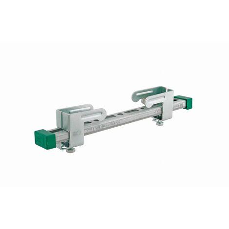 Accroche-tout charges légères WALRAVEN Bis WM1 - L 400 mm - 6071400