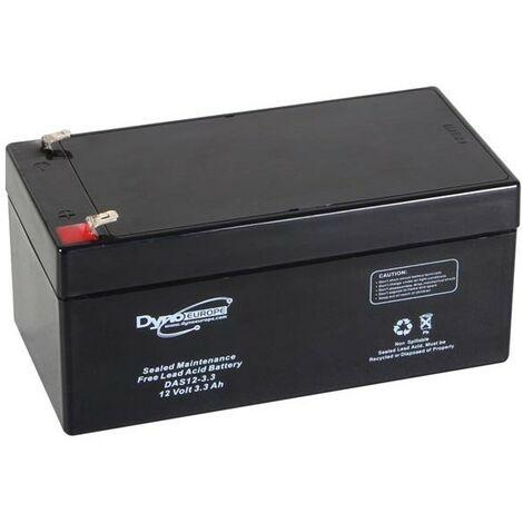 ACCU ACIDE-PLOMB 12V-3.3Ah 133.5x67x67mm (RI627)