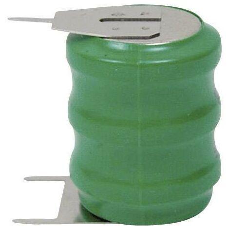 Accu bouton à souder sur C.I. NiMH 3,6V 80 mAh Emmerich 60H SLF A39339