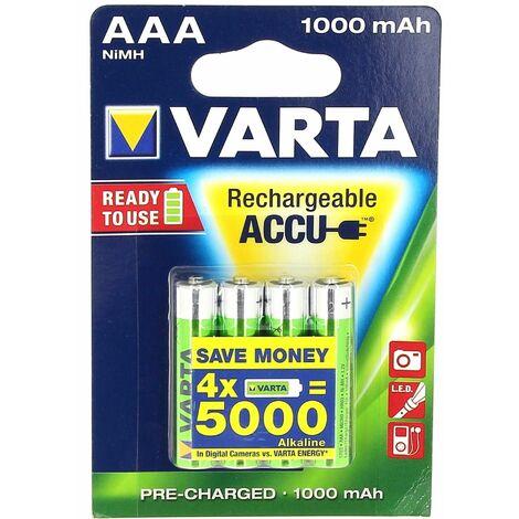 Accu ni-mh lr3/aaa 1,2v 1000mah par 4 pour Outils speciaux Bosch, Droguerie Accessoire, Telephone Panasonic