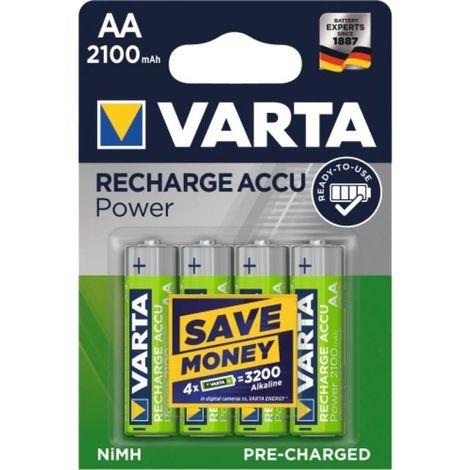 Accus AAA x 4 800mAH Varta