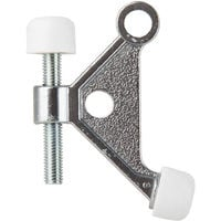 """ACE High Quality Door Stop Hinge Pin For Most Doors 2 5/8"""", Satin Chrome"""