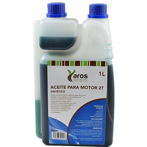 Aceite 2T Sintetico Con Dosificador GAMA OMEGA, UNIVERSAL