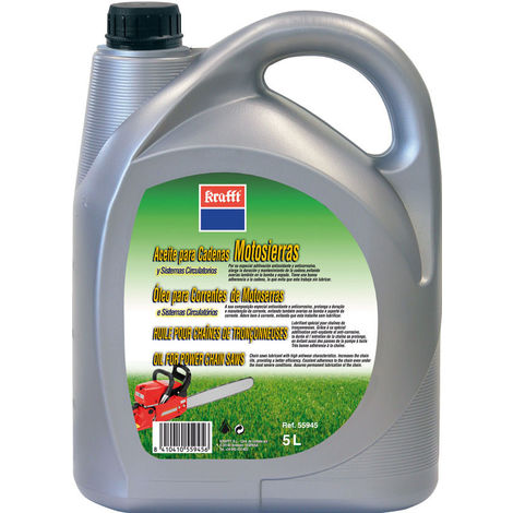 Aceite Cadena Motosierra 5 L - KRAFT - 55945
