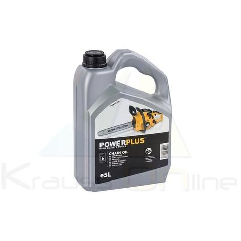 Aceite cadena motosierra 5l (POWOIL006)