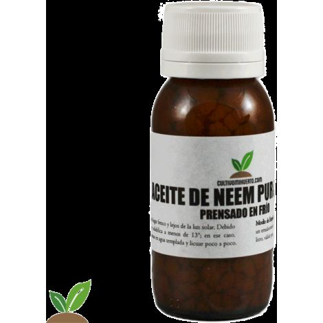 ACEITE DE NEEM PURO. 60 ML