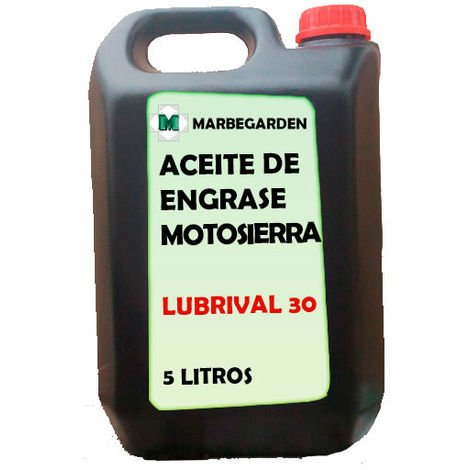 Aceite especial engrase cadena motosierra 5L