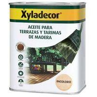 Aceite Incoloro Para Terrazas Y Tarimas De Madera Xyladecor (750 Ml)