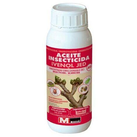 Aceite insecticida Jed 500cc. Uso contra cochinilla, mosca blanca, insectos y ácaros..