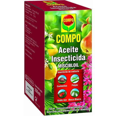 Aceite insecticida