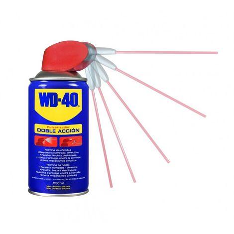 Aceite lubricante multi doble accion spray wd-40 250 ml