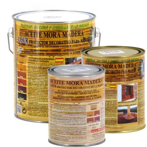 Aceite mora madera Brillante Incoloro