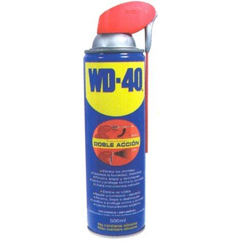 Aceite Multiuso Aerosol Doble - ACCION WD-40 - 34198 - 500 ML