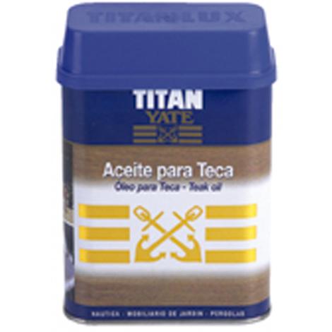 Aceite para Teca Incoloro - TITANXYL - 04P380034 - 750 ML