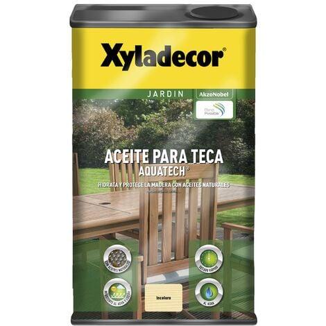 Aceite para teca Xyladecor Aquatech INCOLORO 5 L
