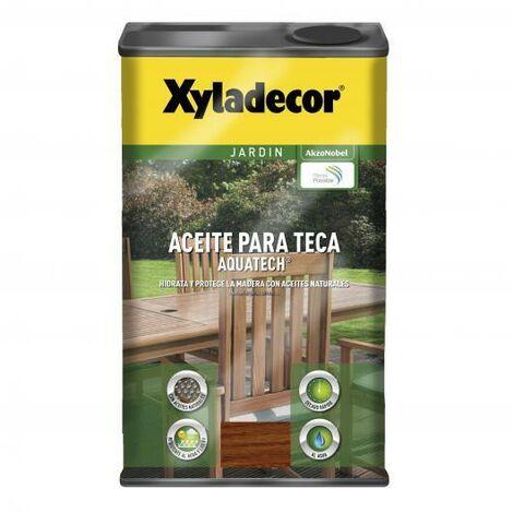 Aceite para teca Xyladecor Aquatech TECA 5 L