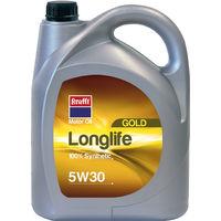 ACEITE SINTETICO 05W30 LONGLIFE 55825-5L - KRAFFT - 55825