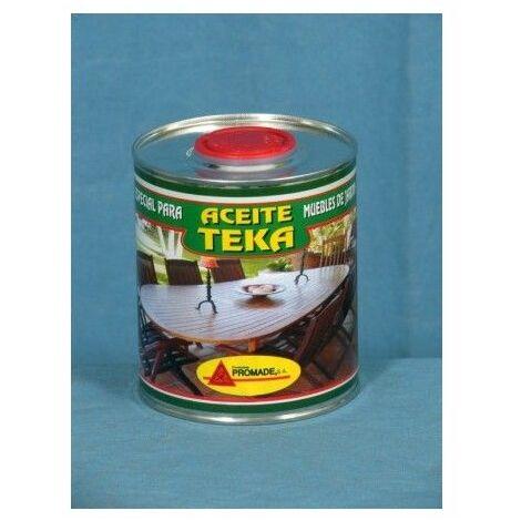 Aceite Teca Protector 375 Ml Incoloro Promade