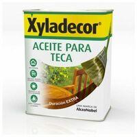 Aceite Teca Protector 5 Lt Miel Xyladecor