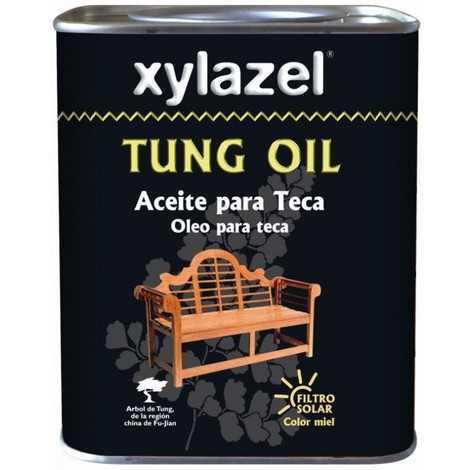 Aceite teca protector 750 ml miel tung oil xylazel