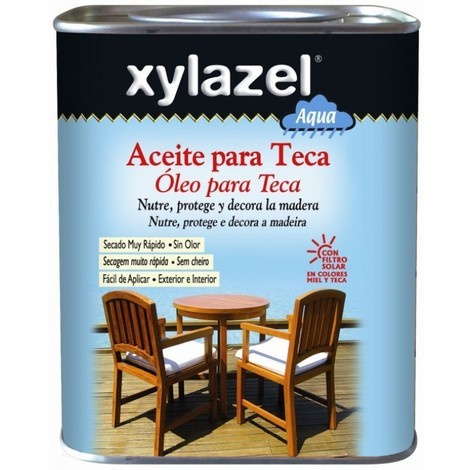 Aceite teca protector 750 ml teca al agua xylazel