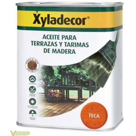 """main image of """"Aceite TECA terrazas y tarimas de madera Xyladecor 5 litros"""""""